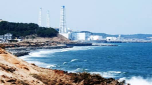 The troubled Fukushima Daiichi Nuclear Power Plant in Okuma, Fukushima, Japan.
