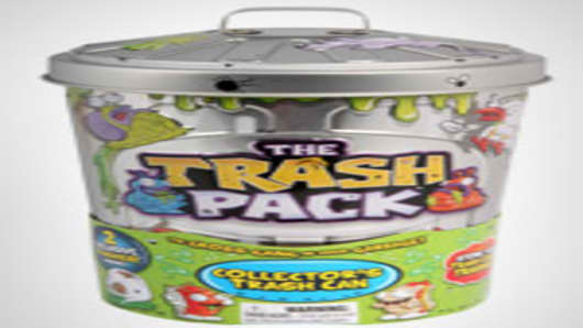 The Trash Pack Collector's Trash Can