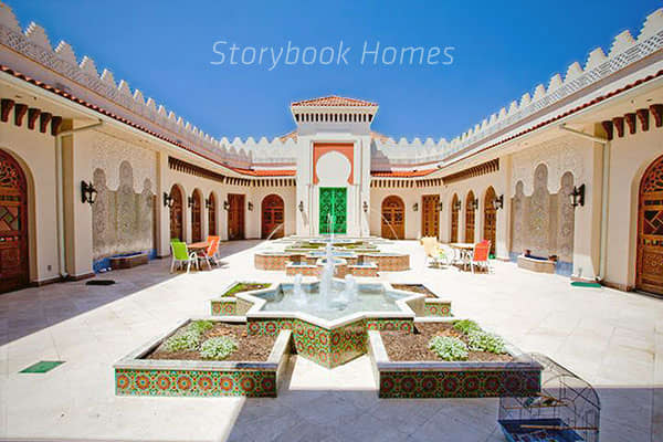 Arabic style homes