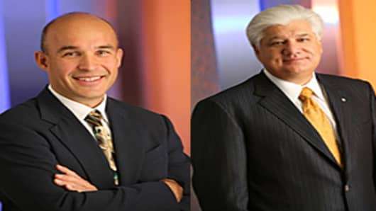 Jim Balsilli and Mike Lazaridis CEOs RIM