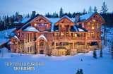 Some people avoid winter, either by living in warmer climes or fleeing when winter looms. Others embrace it and head for the hills to strap on the skis or snowboards. These people need places to unwind after a day of romping in the powder.The editors at  put together a list of some prime ski homes, all of them for sale.The houses typically reflect a love for the outdoors, often featuring walls of windows, fireplaces and rustic beams and stone fireplaces. They're all great for groups and have ent