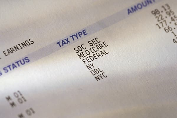 Most Americans pay the bulk of their annual tax bills via payroll withholding. In 2011, the average tax refund was over $3,000, according to the IRS. That's $250 a month! Through this process, a percentage of your pay is taken out each pay period and sent to the IRS, where it is credited toward your final tax bill. That means you've given Uncle Sam free use of your tax money – without receiving any interest. The best course, tax experts say, is to adjust your withholding exemptions so your tax p