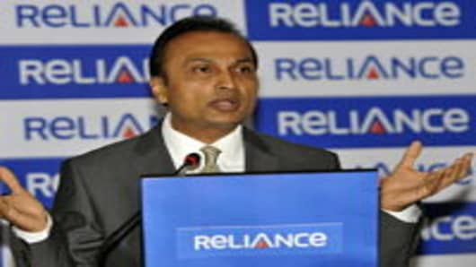 Anil Ambani, chairman of Reliance Anil Dhirubhai Ambani Group and one of India's richest men.