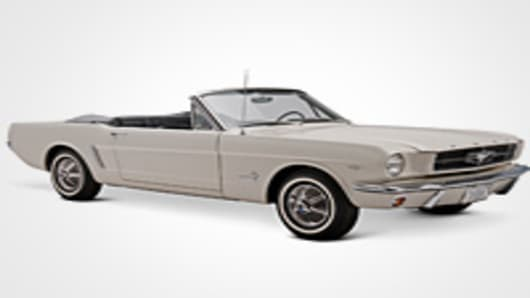 1965 Ford Mustang Number 1
