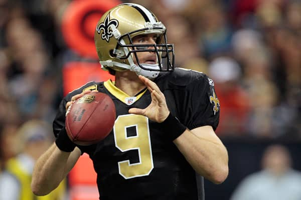 The Saints have been hard to beat this year, thanks to Brees. If you are a rabid Saints fan, and there are plenty of them, you almost have to have a Brees jersey in your game-day attire rotation by now.