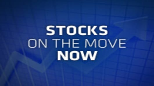 By The Numbers | Stocks on the Move Now