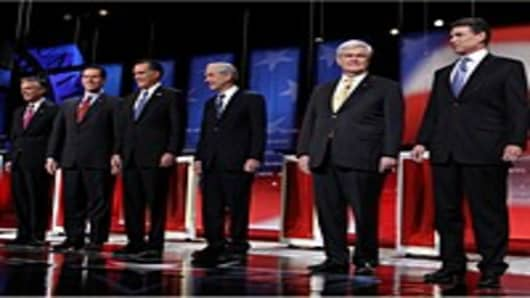 Republican Candidates Participate In Final Debate Before NH Primary