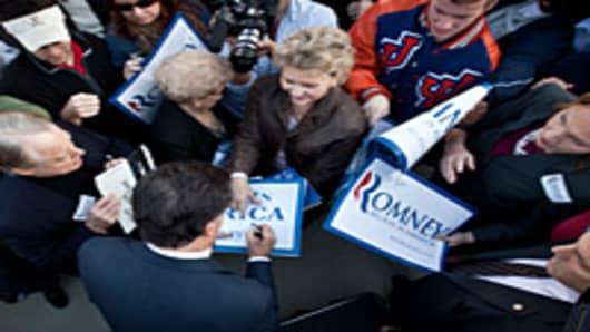 Romney Supporters SC Primary