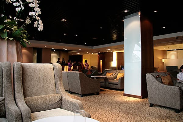 As if the concept of a first-class lounge wasn't exclusive enough, Thai Airways' lounge in Bangkok features private living rooms and sleeping areas, says travel expert Kralev. You can also indulge in a full body massage before you hop onto your flight.