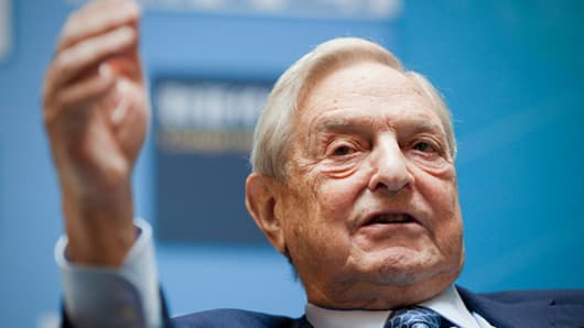 Billionaire investor George Soros.