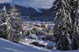 Davos on January 10, 2012 in Davos, Switzerland. The World Economic Forum, which gathers the World&#039;s top leaders, runs from January 25 - 29