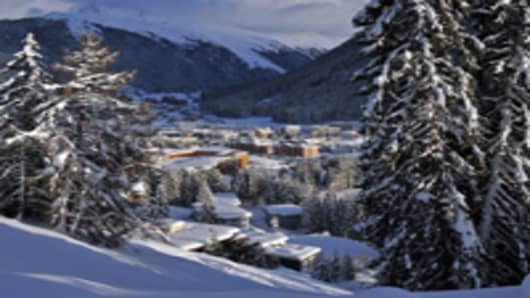 Davos on January 10, 2012 in Davos, Switzerland. The World Economic Forum, which gathers the World's top leaders, runs from January 25 - 29