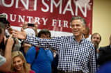 Jon Huntsman, former U.S. Ambassador to China and onetime GOP presidential hopeful, makes an appearance during the 2012 campaign.