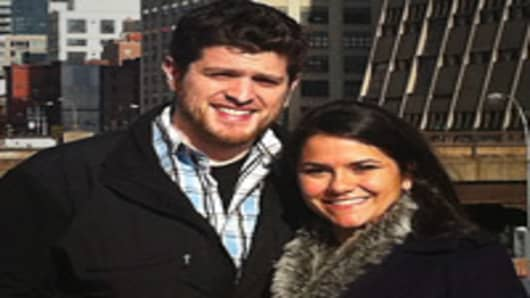 Jenny Stein, 27, and Matt DeTore, 26, are planning for retirement.