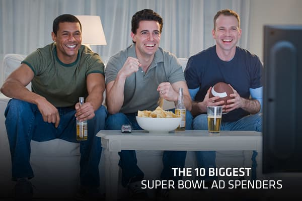 A Super Bowl advertisement is the most expensive ad in television, and with the game between the New York Giants and New England Patriots expected to be the most-watched event of the year, there's no doubt consumers will be paying attention. It's a unique opportunity for advertisers, since Super Bowl ads have virtually become in-game content: for fans watching at home. This year's ads on cost $3.5 million on average for every 30 seconds. Which advertisers have believed that the Super Bowl ad is