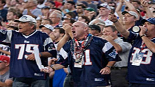 New England Patriot fans