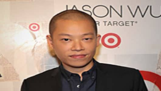 Designer Jason Wu attends the Jason Wu For Target launch at Skylight SOHO.