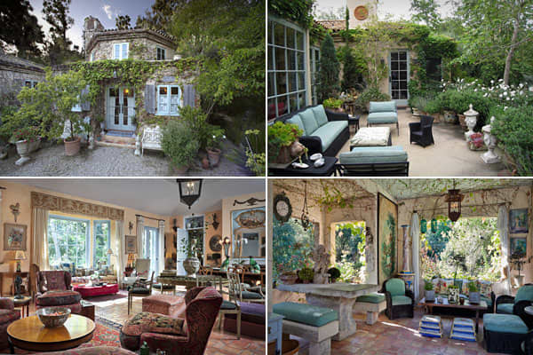 """Location: Montecito,Calif.Price: $5.4 millionBedrooms: 2Bathrooms: 2Square Footage: N/AThe traditional Provencal farmhouse was typically self-sufficient, with capability to produce its own food and textiles — a romantic and old-fashioned notion for anyone who wants to hole up alone with a lover for extended stays. """"Barrel-tiled roof,"""" """"vine-covered walls,"""" and """"handmade terra cotta floor tiles."""" For some who have a rural Francophile design sensibility, these phrases are the height of romance. I"""