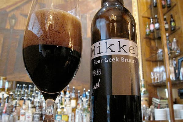 Brewed by MikkellerStyle: Imperial StoutOrigin: Copenhagen, DenmarkMikkell Borg Bjergsø is a Danish gypsy brewer, meaning he makes high quality beers crafted from the finest ingredients but doesn't have his own brewery. Beer Geek Brunch Weasel is an imperial stout brewed at the Nøgne Ø brewing facility in Arendal, Norway. The rich dark ale is made with the world's most expensive coffee beans, which have been sifted out of the droppings of civet cats. Southeast Asian civet cats eat and digest onl