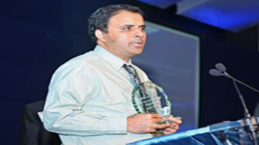 Serial entrepreneur and founder of Sriya Green Materials of Marietta, Ga.
