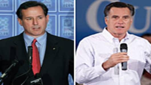 Rick Santorum | Mitt Romney