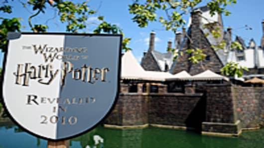 The Wizarding World of Harry Potter at Universal Studios, Orlando, FL