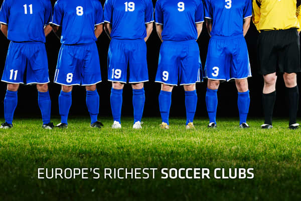 Currently two thirds of the way through the 2011/2012 European soccer season, the best teams in the world will not only be competing for the prestige that come with trophy success, but also for the financial rewards it brings.Europe's most successful soccer teams are growing at a faster rate than the countries they represent, generating a total revenue of $5.8 billion last year according to a new report by business advisory firm Deloitte.During the 2010/11 season, combined revenues for Deloitte'