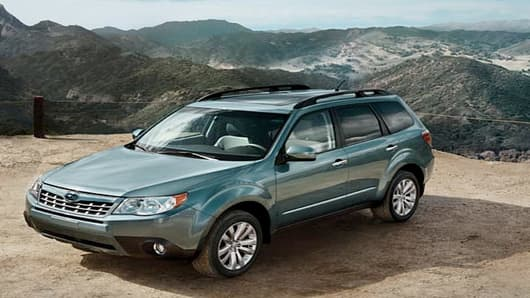 The 2012 Subaru Forester