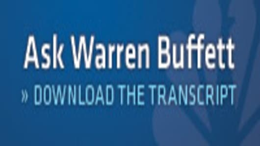 Ask Warren Buffett | Download the transcript