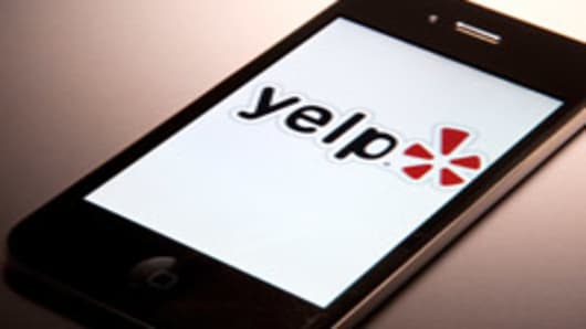 Yelp Inc., the site that lets users review everything from diners to dentists.