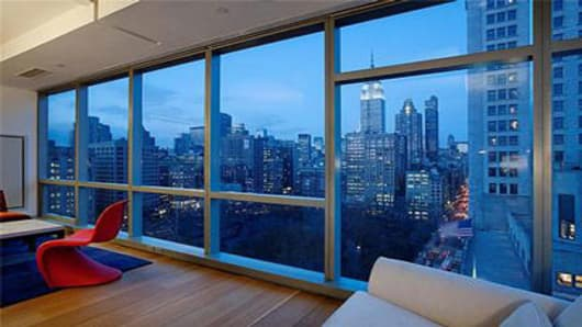 Peter Buffett Apartment Sale - View at Night