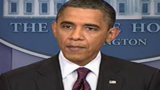 President Barack Obama speaking on Iran