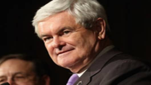 Newt Gingrich is the projected winner in Georgia.