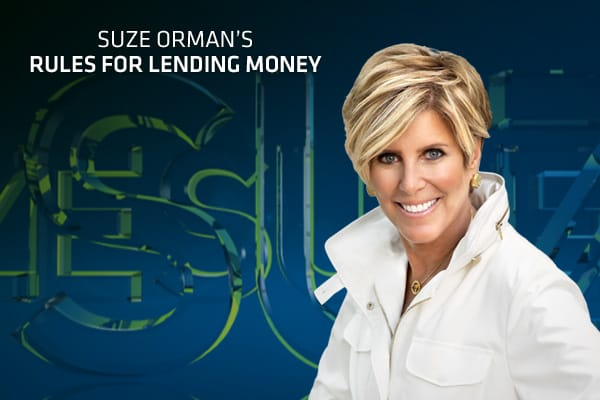 "If someone asks you to lend them money, think before you act. As much as you may want to help out a friend or family member in need, there are several rules you should follow before you hand over any cash.Financial expert Suze Orman lays out her 10 rules for lending money — rules she says must never be altered. They will help you determine if you are in a position to lend or give money, and if so, how to go about doing it.""Live by [these] rules and one day you will be happy that you did,"" she sa"