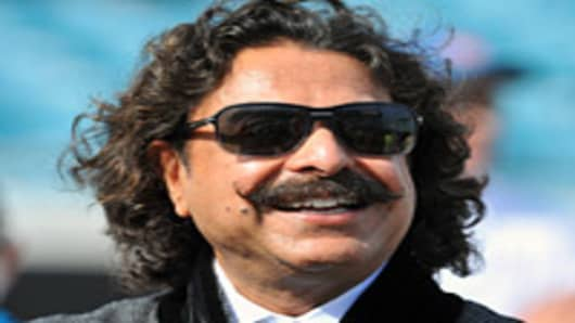 Shahid Khan, the new owner of the Jacksonville Jaguars.