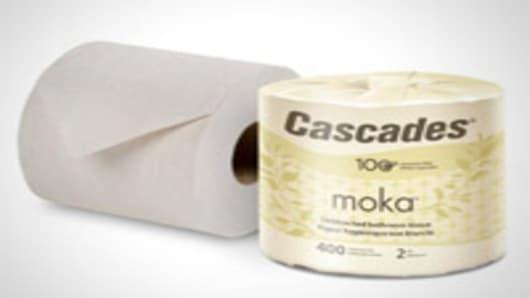 Cascade Moka toilet paper