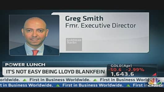 Greg Smith, Goldman Sachs
