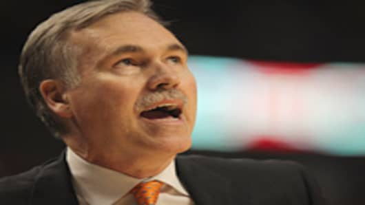 Mike D'Antoni, former head coach for the New York Knicks.