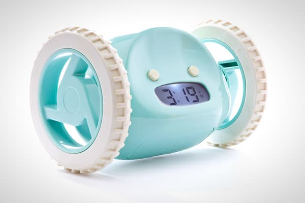 Gauri Nanda liked her sleep, and liked to hit the snooze button … a lot.  So when it came time to design a product for a class project at MIT Graduate School, a moving alarm clock was the first thing that came to mind. Outfitted with two wheels, the clock rolled off the nightstand and across the floor when the snooze button was hit — forcing its groggy owner to get out of bed to turn it off. Once Nanda graduated, she dusted off her prototype, got funding from family and started selling the clock