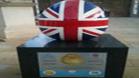 Faberge Union Jack Egg