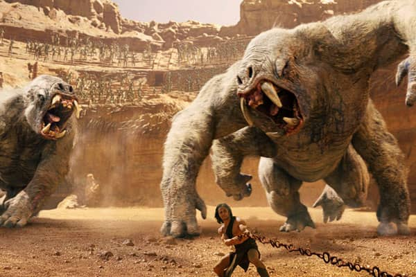 John Carter released in 2012.