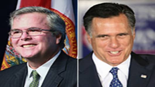 Jeb Bush endorses Mitt Romney