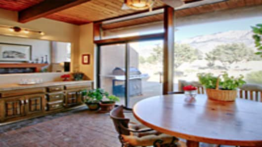 Albuquerque, New Mexico home listed by Kurstin Johnson for sale around $400,000.