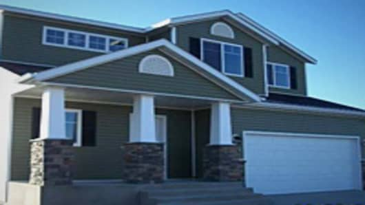 This home on sale for $299,990 is in the Eagle Crest development in Bismarck, N.D.