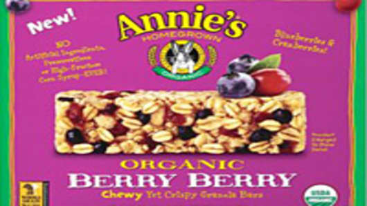 Annies Organic Berry Berry Bars