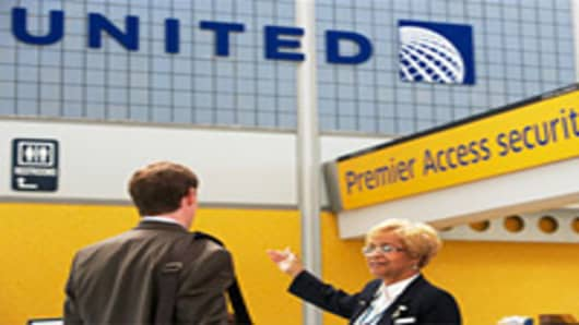 United Airlines Premier Security Access