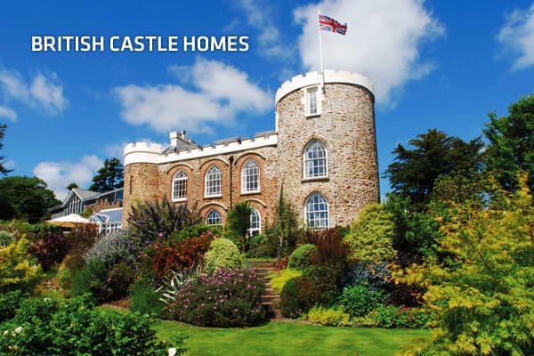 British castle homes for Castle home builders