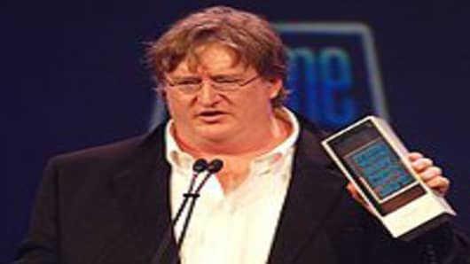 Gabe Newell, co-founder and managing director of video game development and online distribution company Valve Corporation.