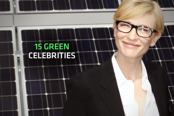 For all the criticism lobbed at Hollywood over greenwashing, there are a few true champions of nature among the rich and famous – and these 15 exemplify that.