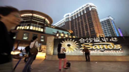 Sands Cotai Central, Sands' newest integrated resort, in Macau.